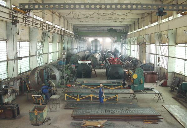 Фото производственного цеха ОРМЗ