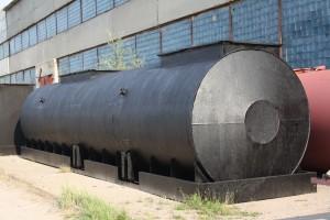 Резервуар с опалубкой