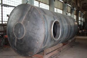 резервуар горизонтальный стальной подземный