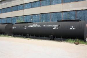 резервуар стальной сварной горизонтальный